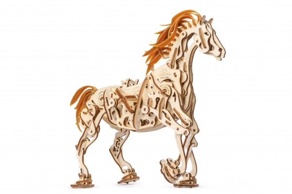 1 Ugears Horse Mechanoid Model Kit Title