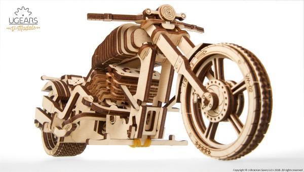 02 Ugears Bike VM-02 Model Kit DSC9832