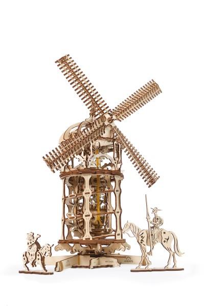 1 Ugears Tower Windmill Model kit Title