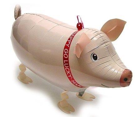 Airwalker-Schwein